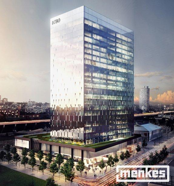 Rendering of the Phase One tower, image courtesy of Menkes