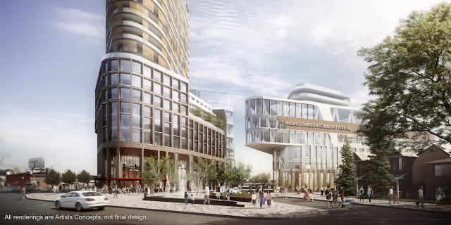 Galleria Mall Redevelopment, Toronto, by Freed, ELAD