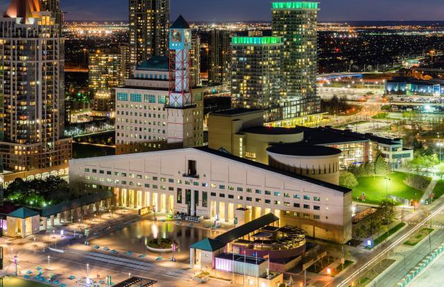 Photo Of The Day Mississauga Civic Centre Urban Toronto