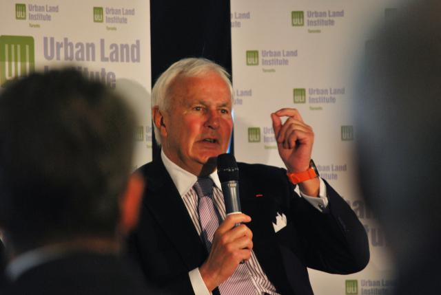 Former Ontario Premier David Peterson, Urban Land Institute, Expo 2025