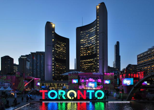 Toronto sign, Pan Am Games, Expo 2025, image by Marcus Mitanis