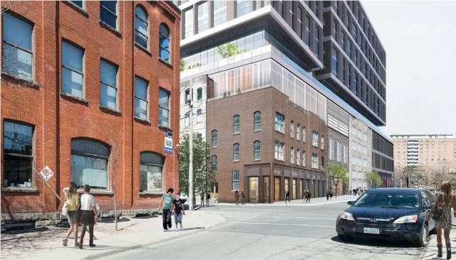 WAM Development, Arquitectonica, S9, Sweeny & Co, Toronto, 245 Queen East