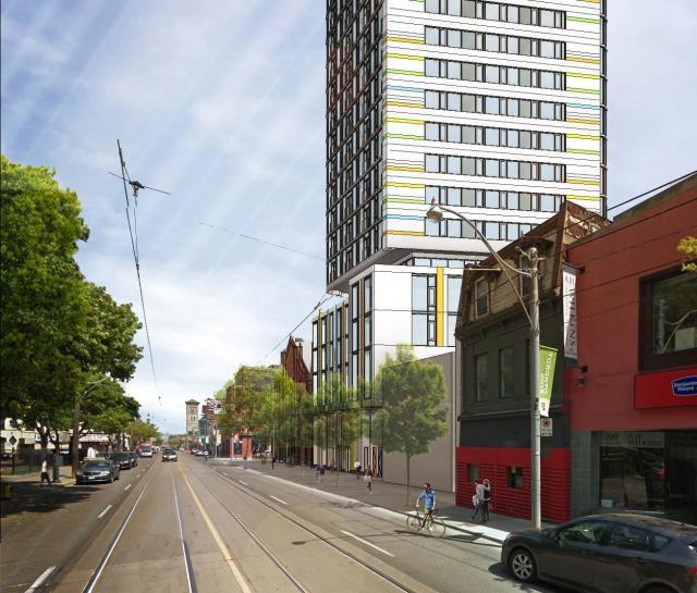 301 Queen Street East, Toronto, Quadrangle Architects