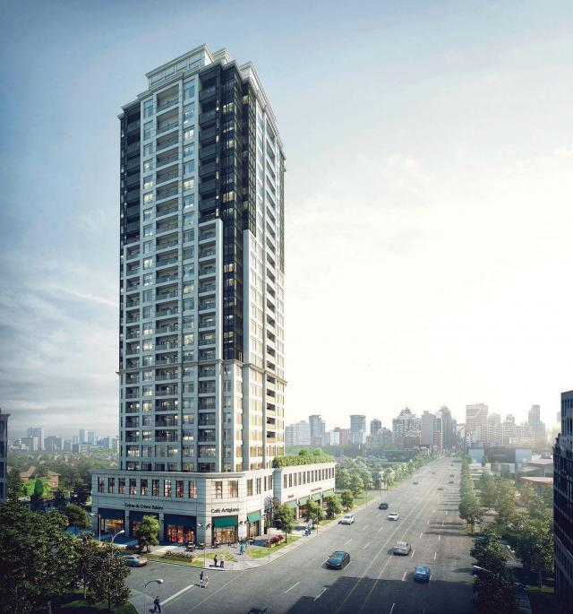 The Vanguard, Devron Developments, Kirkor Architects, Thornhill