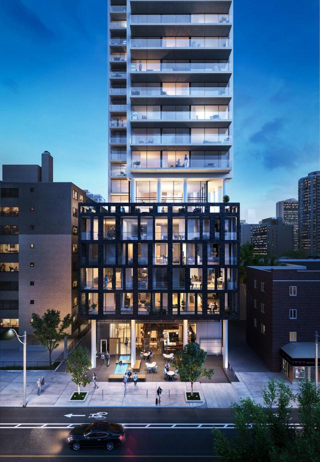 Eighty One Wellesley, Aragon Properties, Core Architects, Toronto