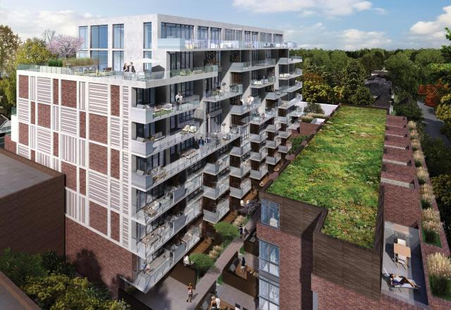 George Condos and Towns, Toronto, by The Rockport Group, RAW Design