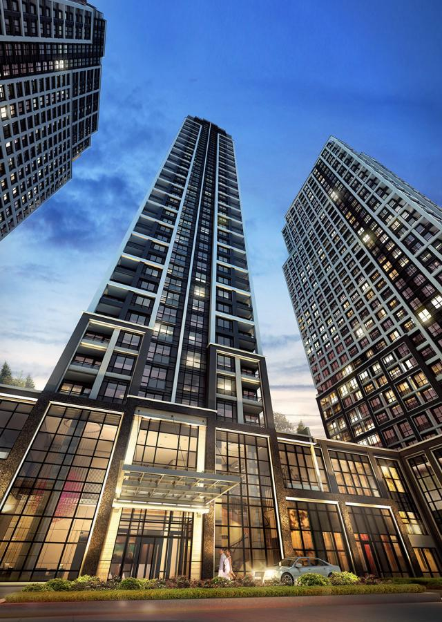 BLOORVISTA at Islington Terrace, Toronto, by Tridel, Kirkor