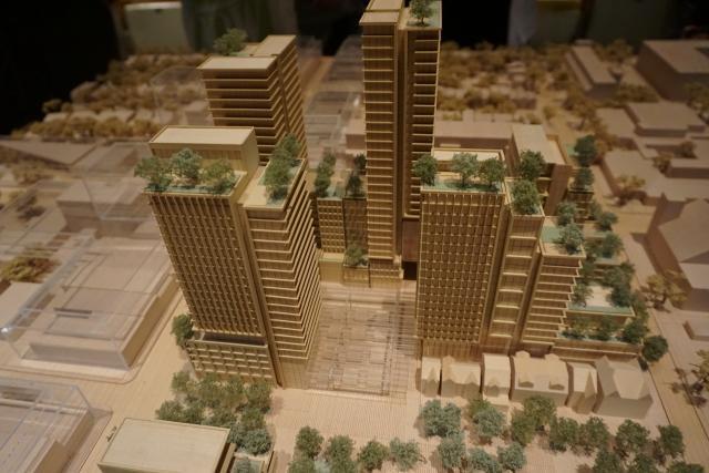 Mirvish Village, Toronto, by Westbank Corp., Henriquez Partners Architects