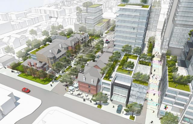 Mirvish Village, Toronto, by Westbank Corp., Henriquez Partners Architects