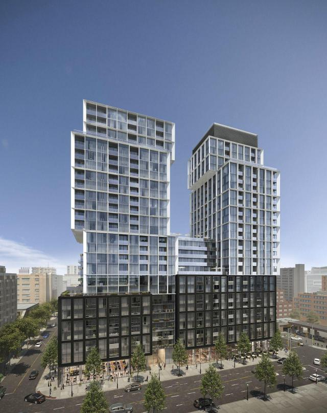 St. Lawrence Condos at 158 Front, Toronto, by Cityzen Development Group, Fernbro