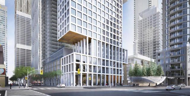1 Scollard, Toronto, designed by KPMB Architects for the Cityzen Group