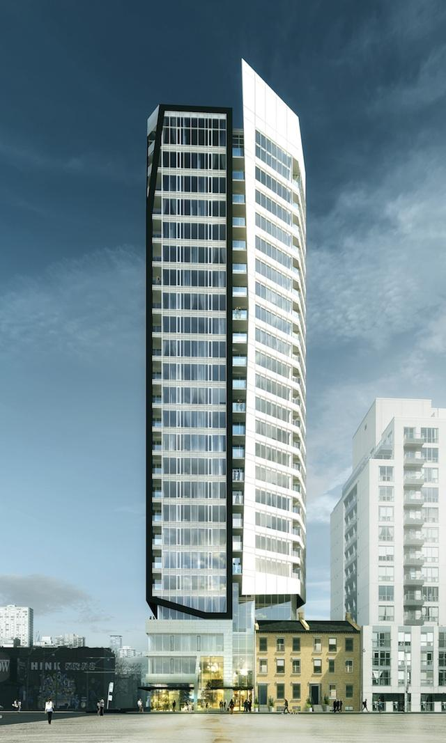 Core Condos, Toronto, by CentreCourt Developments, Page + Steele / IBI Group