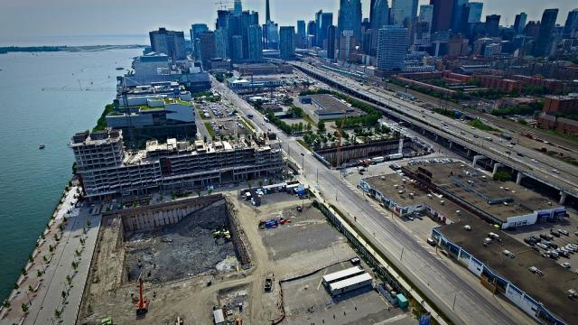 East Bayfront, Toronto, construction, development
