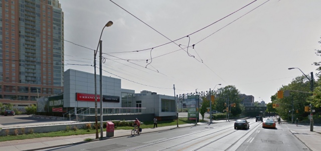 At King and Sudbury, the former sales centre site could potentially be home to a