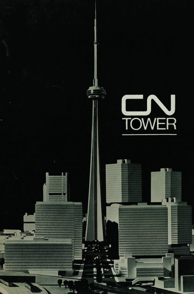 Revised CN Tower design within the Metro Centre plan, WZMH, Idea Workshop