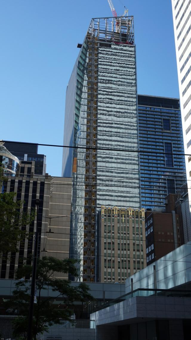 EY Tower, Toronto, by Oxford Properties, Kohn Pedersen Fox, WZMH