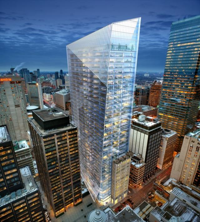 EY Tower, Toronto, Oxford Properties, Kohn Pedersen Fox, WZMH