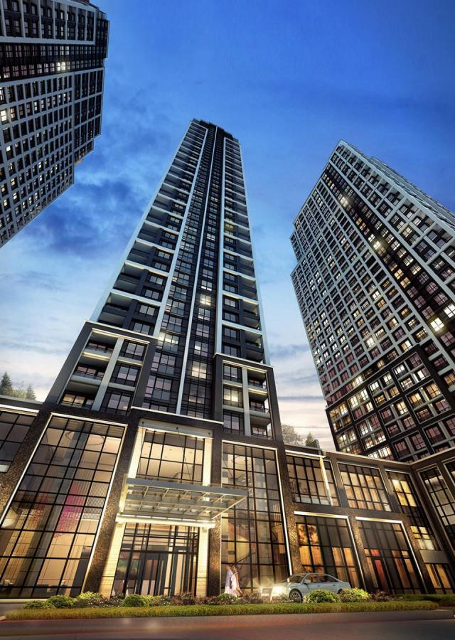 Islington Terrace, Toronto, by Tridel, Kirkor Architects Planners