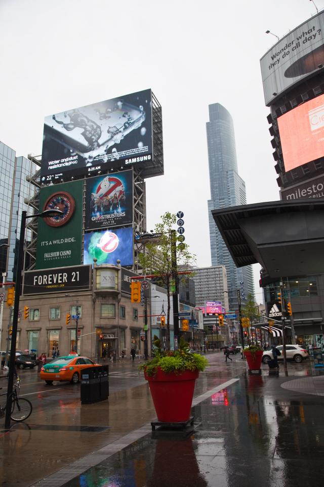 Throwback Thursday, Yonge and Dundas, Toronto
