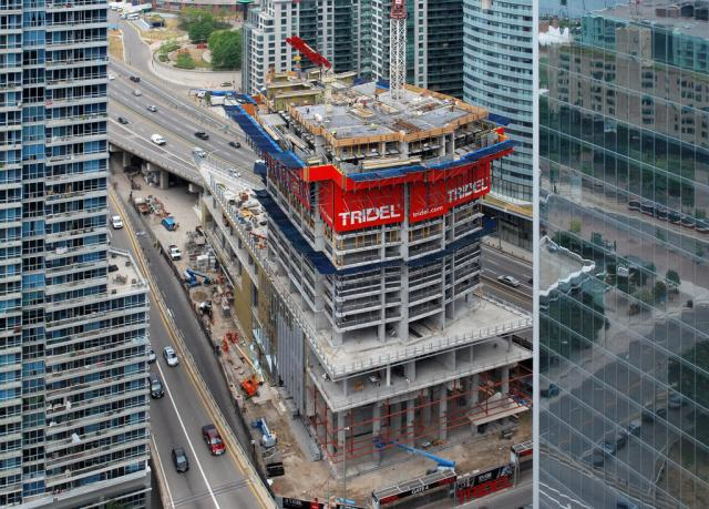 Ten York Street Condos, Tridel, Wallman Architects, Toronto