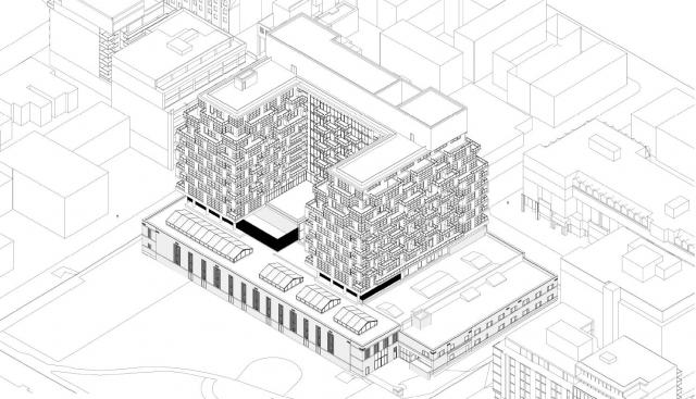 Waterworks Building Redevelopment, Toronto, by MOD, Woodcliffe, Diamond Schmitt