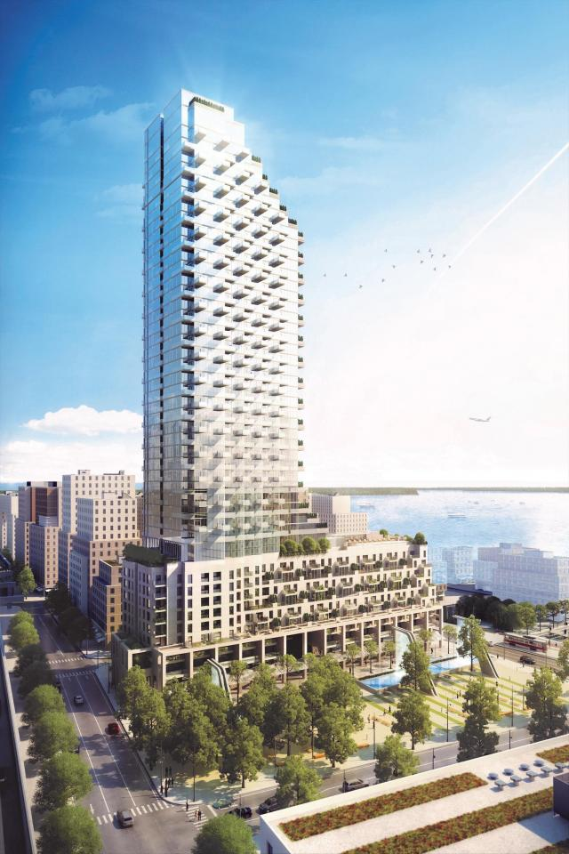Monde Condominiums, Great Gulf Homes, Moshe Safdie, Quadrangle, Toronto