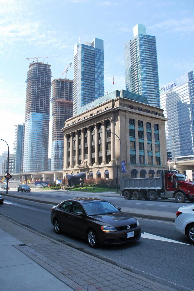 Throwback Thursday, Toronto Harbour Commission Building, South Core