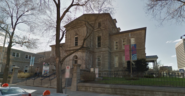 The Ottawa Art Gallery's Daly Avenue frontage, image via Google Maps