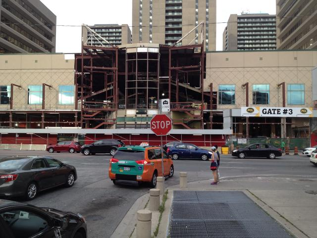 Yonge Sheppard Centre Renovations and Expansion, Kingsett, RioCan, Quadrangle