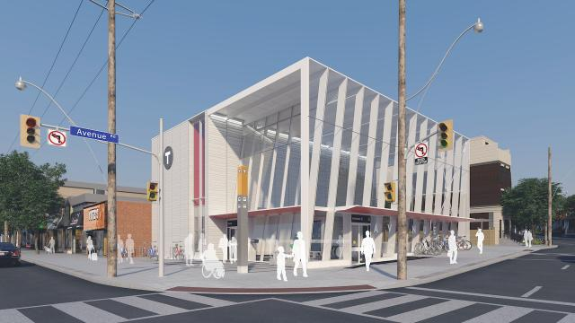Eglinton Crosstown LRT, Metrolinx, Avenue Road Station, IBI Group