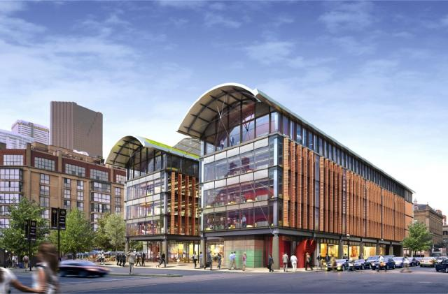 Northwest view of the new North Market, image courtesy of City of Toronto