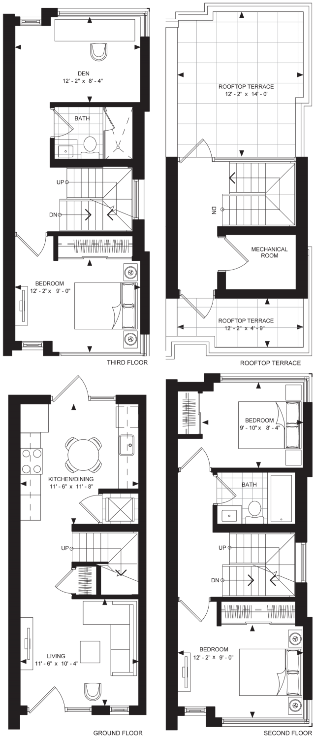 Floorplan TH-D1 at The Met, image courtesy of Plaza/Berkeley
