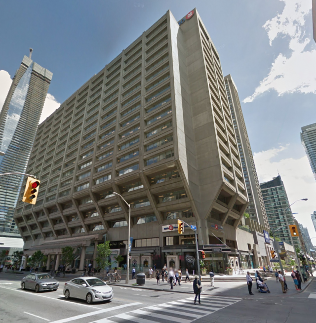 Manulife Centre, Toronto, by Manulife Real Estate, Moed de Armas & Shannon
