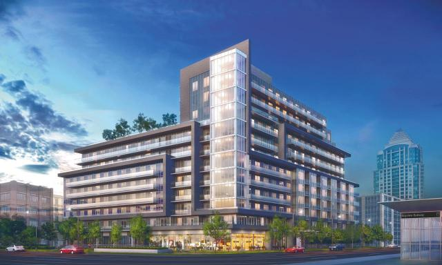 Lotus Condominiums, image courtesy of Chestnut Hill Developments