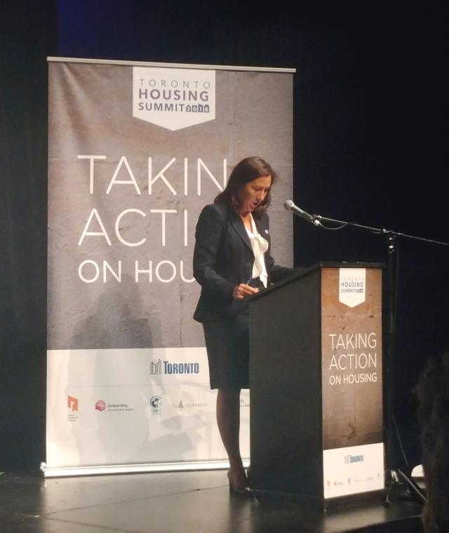 Ana Bailao, Toronto Housing Summit
