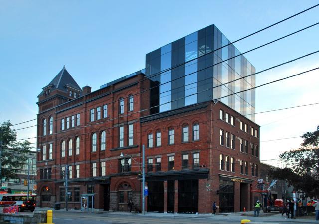 Broadview Hotel, Streetcar Developments, ERA Architects, Toronto, Riverside