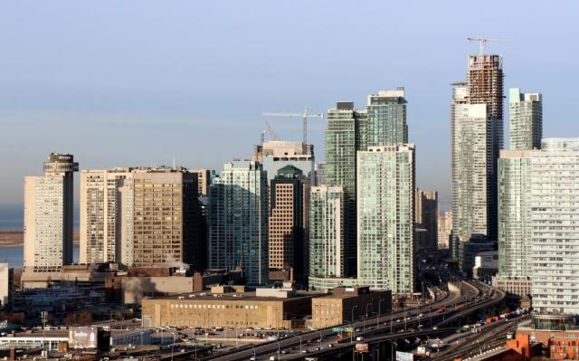 Throwback Thursday, South Core skyline, Toronto