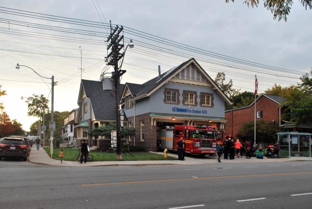 Fire Station 424 has long been a staple of the neighbourhood, Toronto, Runnymede