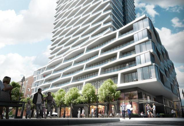 Axis Condos, Toronto, by CentreCourt Developments, Page + Steele / IBI Group