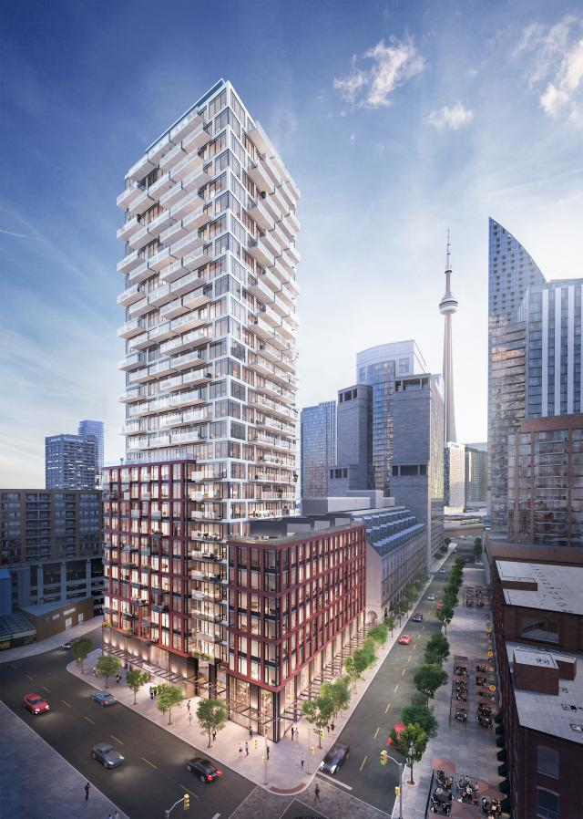 75 on The Esplanade, Toronto, by Harhay, Carttera, architectsAlliance