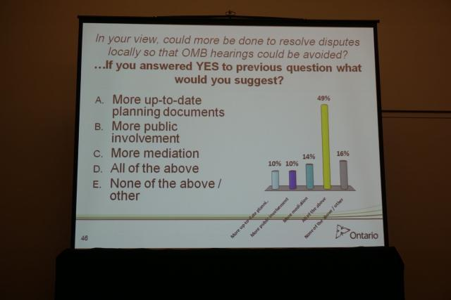 Survey on how to resolve disputes at the OMB, image by Craig White