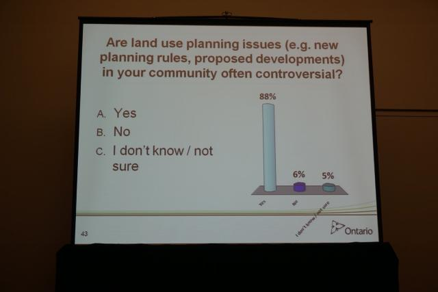 Survey on controversial planning issues in citizens' communities, image by Craig
