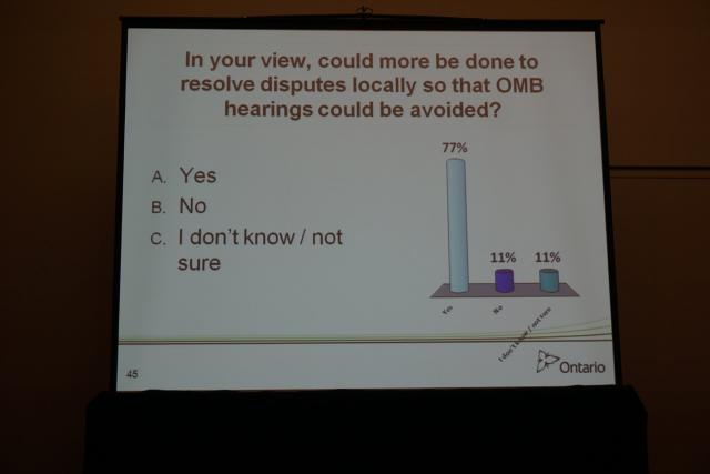 Survey if more could be done at the OMB, image by Craig White