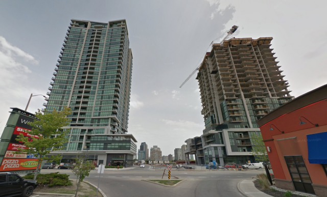 Grand Park Towers, Mississauga, by Pinnacle International