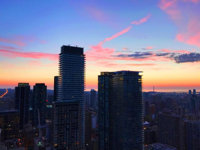 Bloor-Yorkville Sunrise