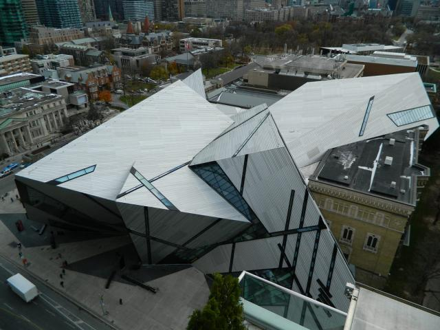 Photo of the Day, Royal Ontario Museum, ROM, Michael Lee-Chin Crystal, Toronto