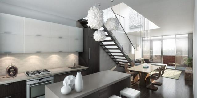 Arch Lofts, by Caricari Lee Architects, for Windmill Developments, Toronto
