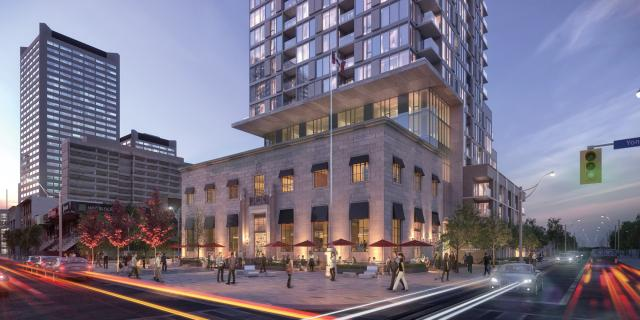 Montgomery Square, Rockport Group, RAW Design, Toronto