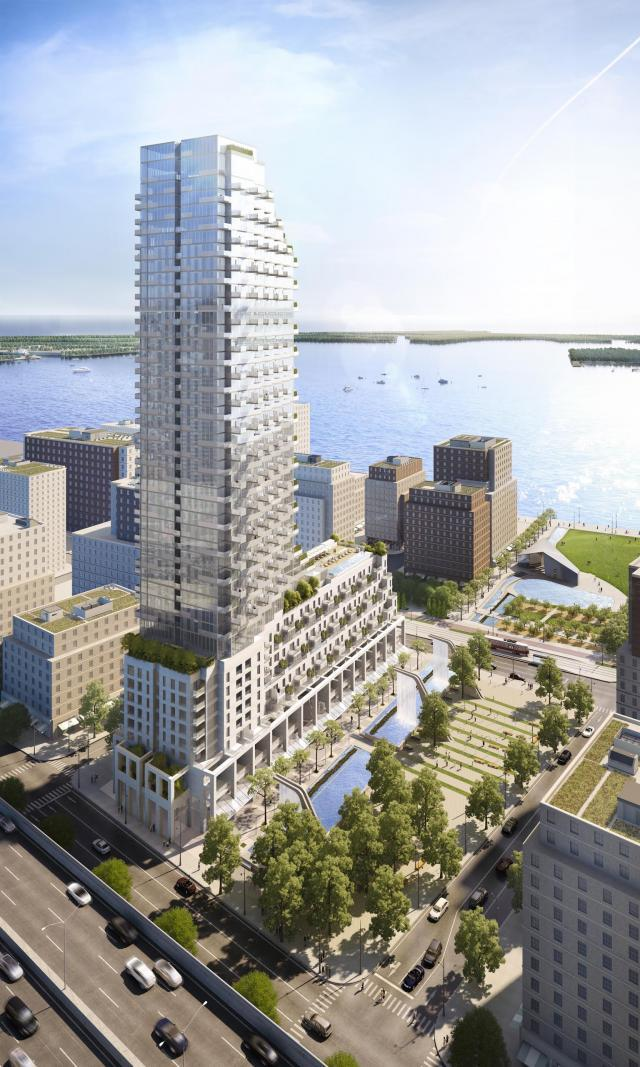 Monde Condominiums, Toronto, Great Gulf, Moshe Safdie