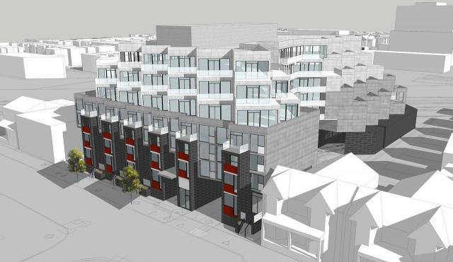 57 Brock Avenue, RAW Design, Block Developments